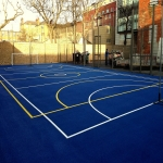 Netball Court Resurface in Ambler Thorn 6