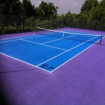 Tennis Court Resurface in Alkham 11