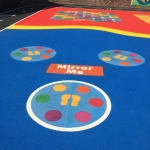 Tarmac Playground in Admington 6