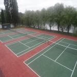 Netball Court Resurface in Aller 2