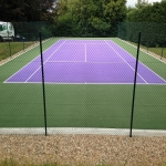 Netball Court Resurface in Allerton 4
