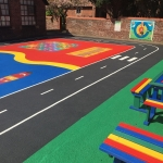 Tarmac Playground in Ashbank 11