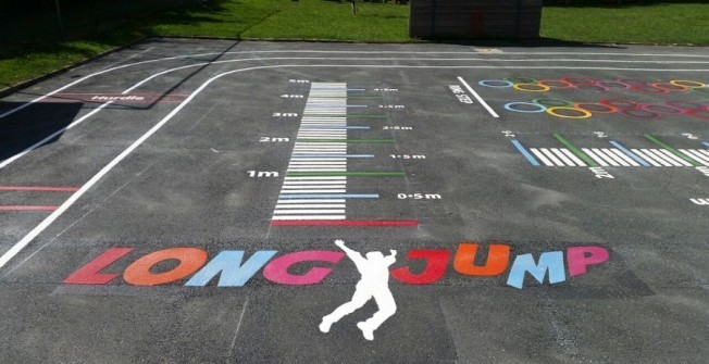 Asphalt Playground Games in Holmethorpe