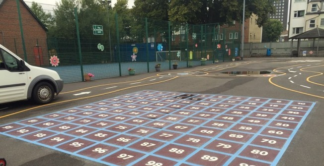 Playground Flooring UK in Admington