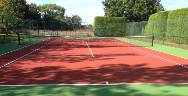 Sports Court Resurface in Alkham